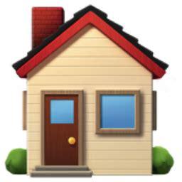 house emoji u 1f3e0