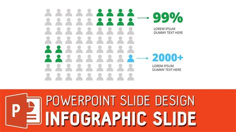 powerpoint design youtube simple powepoint infographic slide powerpoint icon