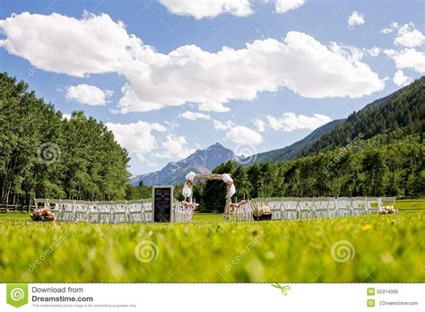 Wedding Ceremony Blue Mountains by Mountain Wedding Ceremony Stock Photo Image 52314095