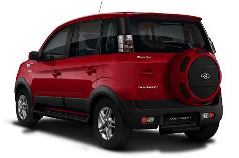 mahindra suv car price mahindra nuvosport suv launch in india prices specs
