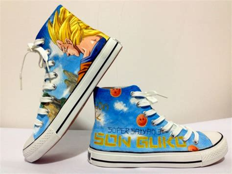 z shoes goku saiyan custom shoes z photo
