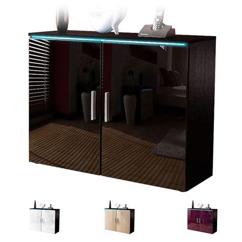 Sideboard Cabinet Dressor Buffet Faro V3 Black   High