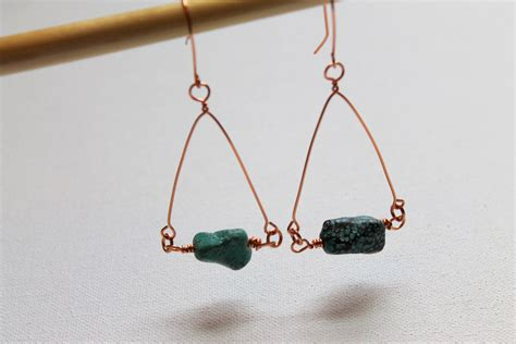 make wire jewelry how to make wire wrapped earrings emerging creatively