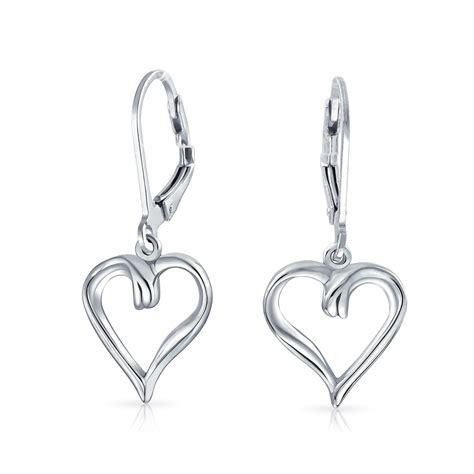 how to make sterling silver jewelry at home open dangle leverback earrings 925 sterling silver