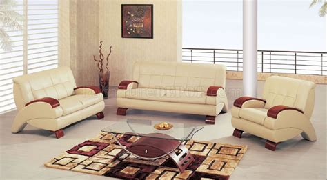 cherry furniture living room beige leather modern living room w cherry wooden arms
