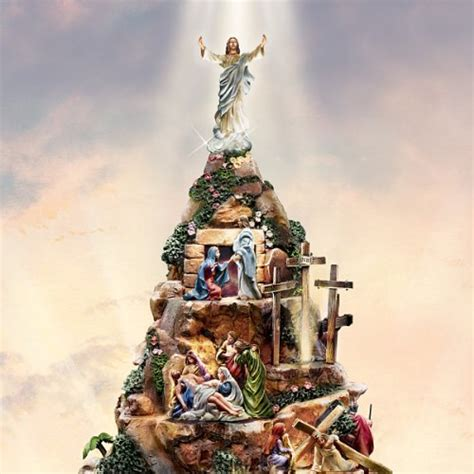 bradford exchange home decor thomas kinkade christian tabletop home decor faith