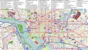 washington dc map of cities city maps washington dc