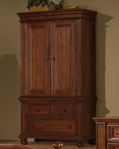 winners only tv armoire cape cod in chocolate wo bg1008ab