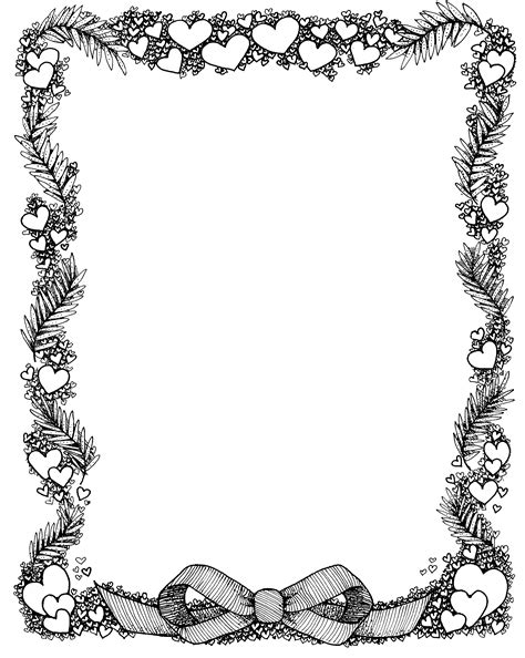 star border coloring page stars page border coloring pages