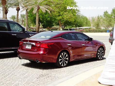 Is The Nissan Maxima All Wheel Drive by Drive 2016 Nissan Maxima In The Uae Drive Arabia