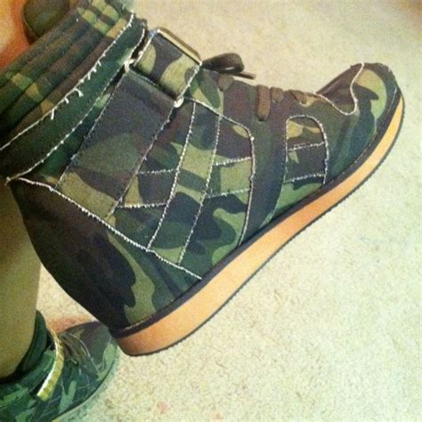 army fatigue sneakers 47 boots stylish army fatigue wedge sneaker from k