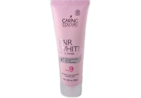 Harga Caring Colour Fair White review untuk sle caring colours fair white foam