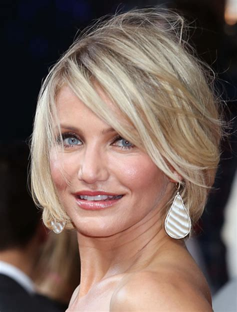 hairstyles cameron diaz bob celebrities with choppy bob hairstyles women hairstyles