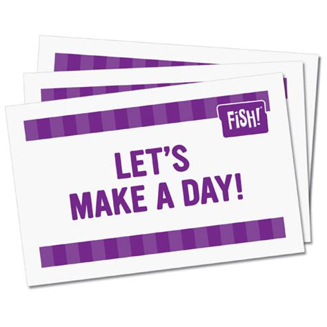 lets make cards let s make a day cards creators of fish philosophy