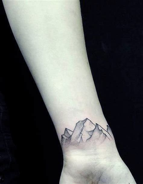 mountain wrist tattoo mountain tattoos designs ideas and meaning tattoos for you