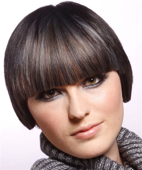 hair bangs short blunt square face the right hairstyles for your square face shape