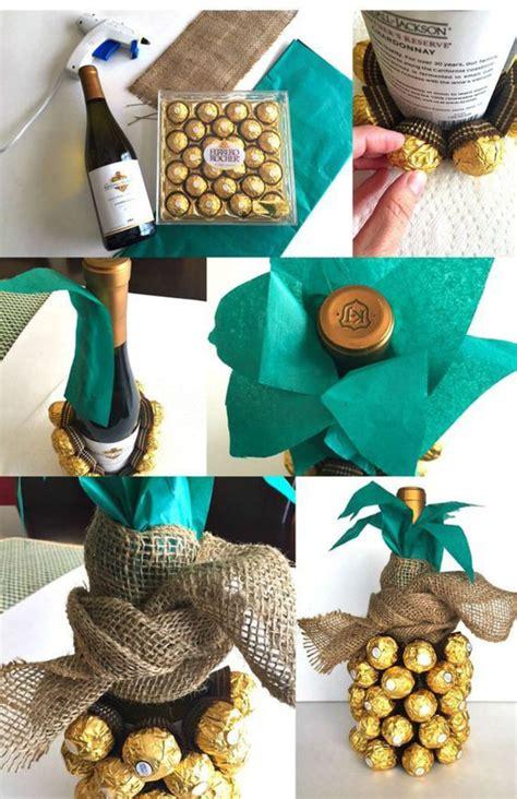 Flasche Mit Geld Dekorieren 10 kreative ideen wie sie weinflaschen verpacken und