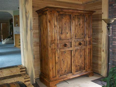 Rustic Wardrobe Closet by Custom Rustic Wardrobe Closet Furniture Files