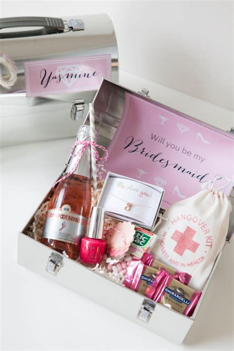 Wedding Box Lunch Ideas by Bn Living Wedding Diy Bridesmaid Boxes