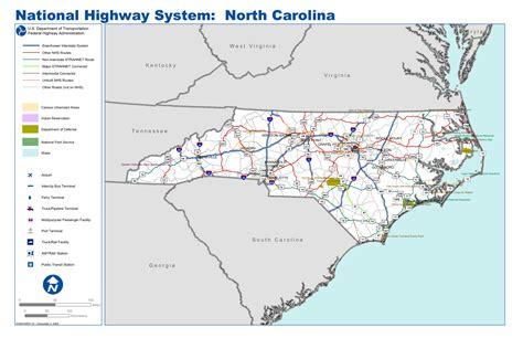 map carolina highways map carolina interstate