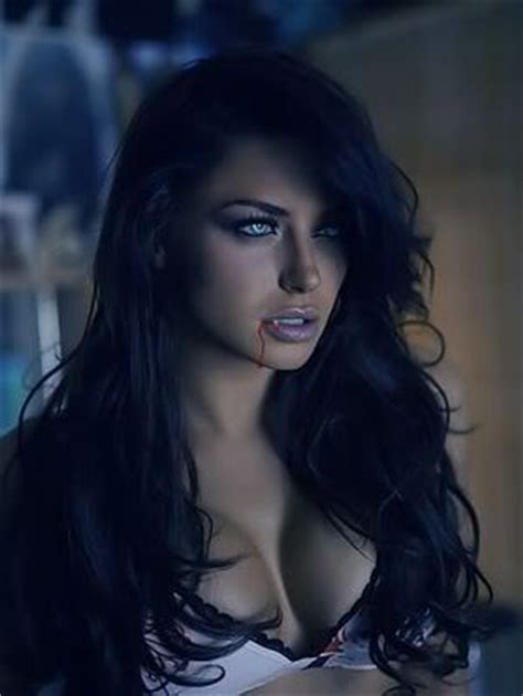 hair and make up artist on love lust or run beautiful wavy hair piercing eyes and distracting