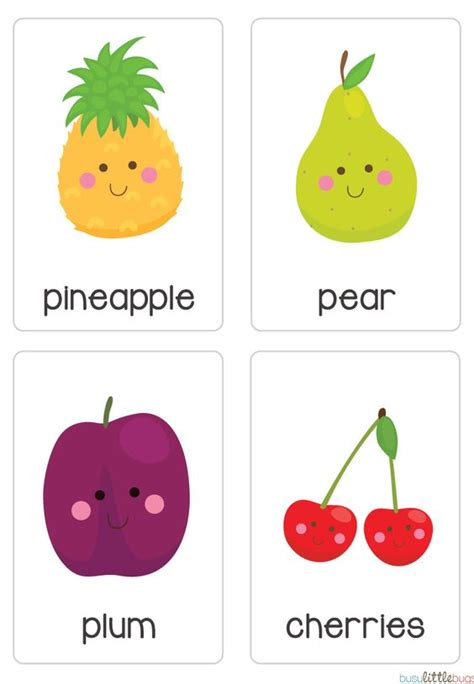 vegetable flashcards printable our set of printable quot fruit vegetable flash cards quot are a