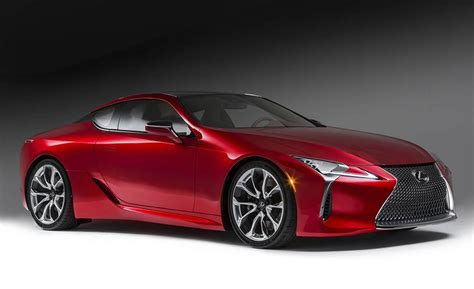 2017 lexus coupes 2017 lexus lc500 coupe dissected feature car and driver
