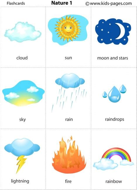 printable flashcards for toddlers printable weather flash cards for kids short hairstyle 2013