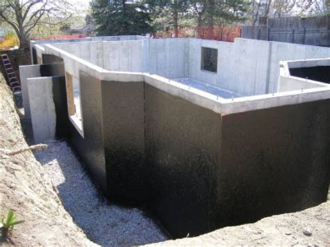 foundations retaining walls waterproofing maris