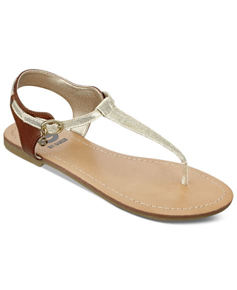 sandals guess g by guess s luzter t flat sandals in