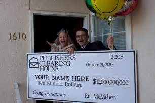 publishers clearing house ed mcmahon reber publishers clearing house winner