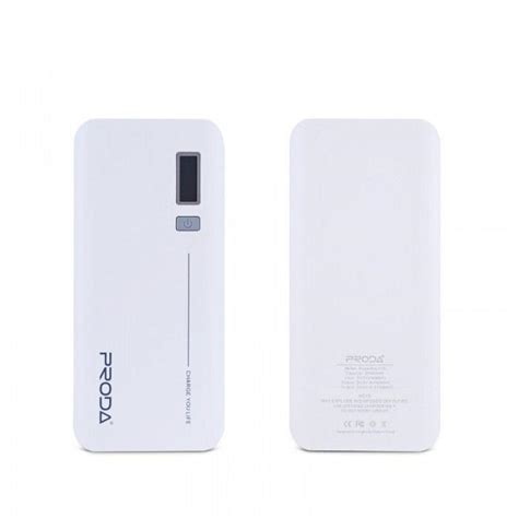 Power Bank Remax Proda V6i 10000mah Lithium Ion Battery 1 power bank remax 20000mah v10i white ppl 6