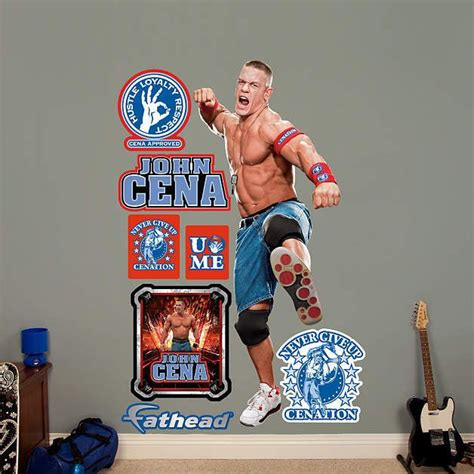 cena wall stickers 1000 images about and tv wall decals on