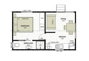 Cottage Floorplans by Cabin Floor Plans Oxley Anchorage Caravan Park