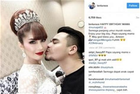 Aksi ?Beauty And The Beast? Nur Sajat di Laman Instagram