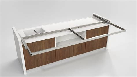 kitchen island worktop snack sliding kitchen island worktop box15