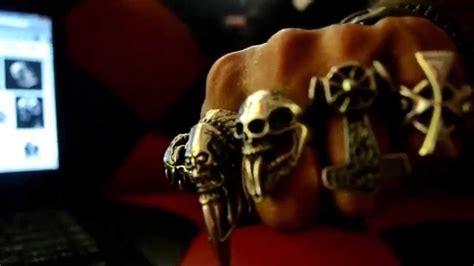 Skull Ring Murah Skull Ring Grosir Cincin Uniq Cincin Titanium Vire jual cincin tengkorak skull ring murah bogor depok