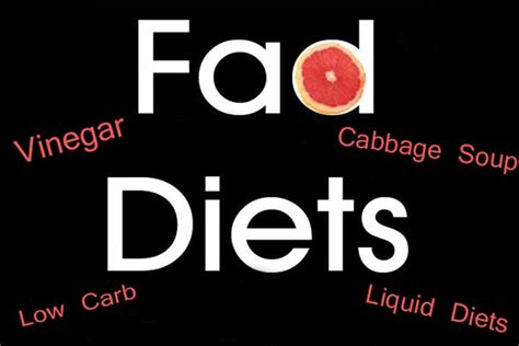 8 Fad Diets amazing 8 fad diets that actually work