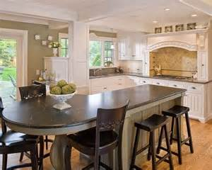 25 best ideas about kitchen island seating on pinterest