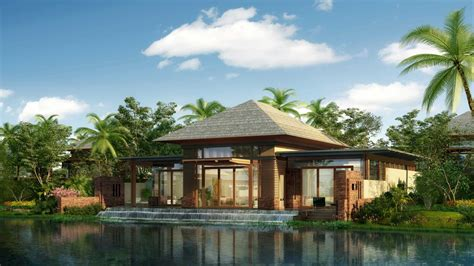 Resort House Plans by Island Resorts Luxury Tropical Resorts Tropical Island