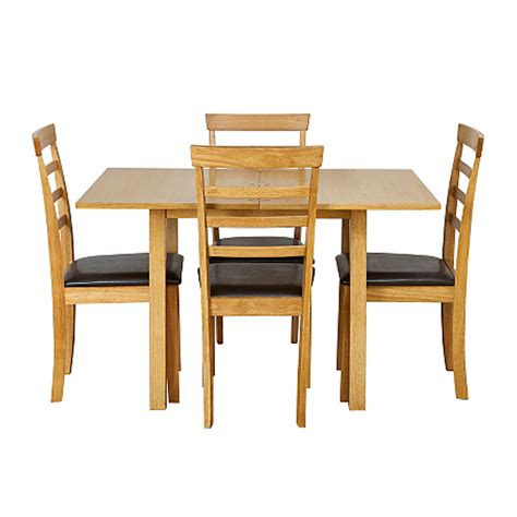 Flip Top Dining Table And Chairs Shultz Flip Top Dining Table And 4 Chairs Dining Tables Chairs Asda Direct