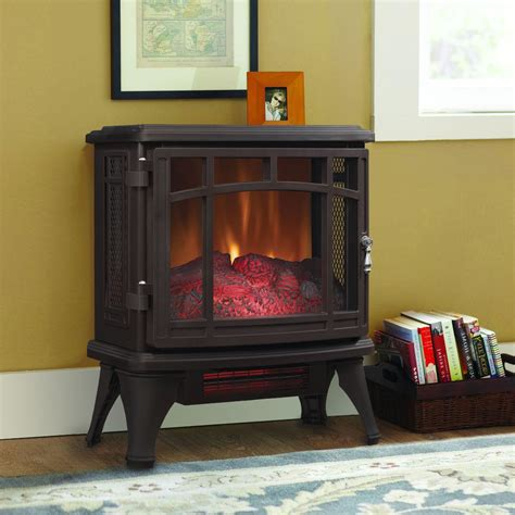 Duraflame Electric Fireplace Duraflame 8511 Bronze Infrared Electric Fireplace Stove With Remote Dfi 8511 02