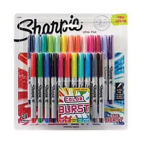 sharpie colors sharpie color burst permanent markers ultra point