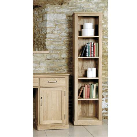 Oak Narrow Bookcase Mobel Light Oak Narrow Bookcase Wooden Furniture Store