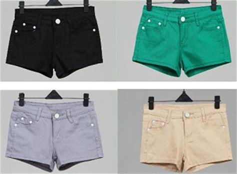trend model celana pendek wanita terbaru fashion