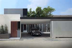 garage design ideas for modern small house yen akat road bangkok toronto residence description belzberg architects designed