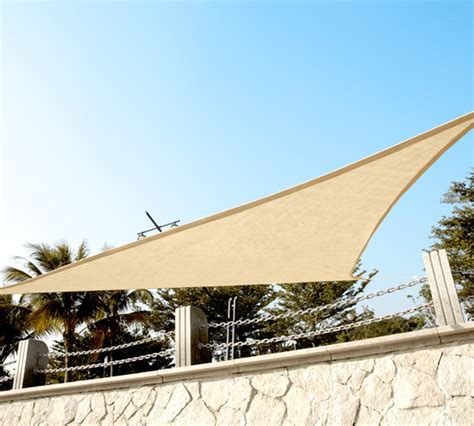 Triangle Awning Canopies by 3 6m Triangle Shade Sails Garden Sails Canopy Quictent
