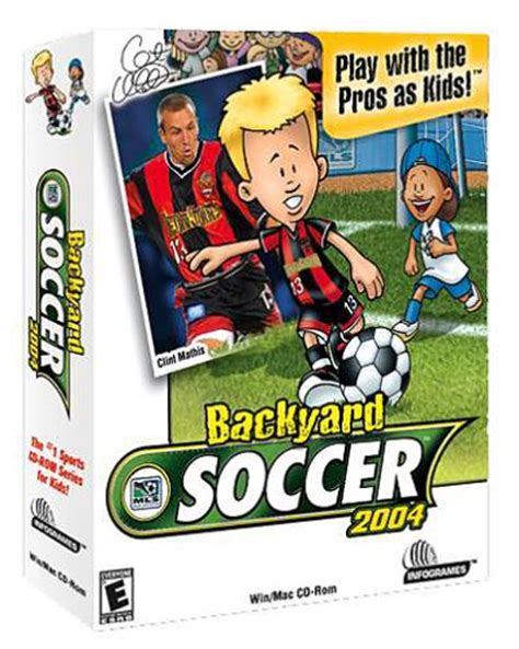 Backyard Soccer Pc by Backyard Soccer 2004 Pc Mac