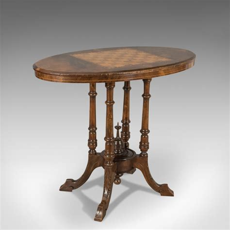 antique side tables antique side table with inlaid chess board