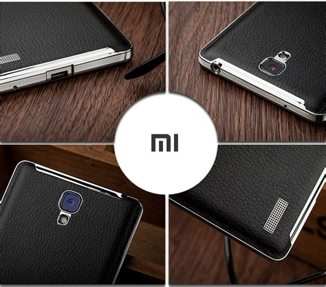 Leather Xiaomi Note 1 3g 4g Note 2 xiaomi redmi note 3g 4g matte leather back cover